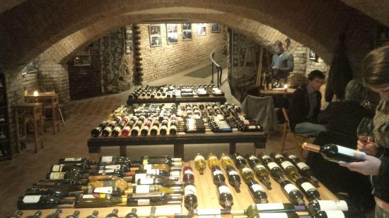 Brno, Tjeckien: The Wine Gallery.