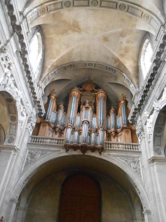 Eglise Notre Dame de Bonsecours: Este orgão maravihoso.