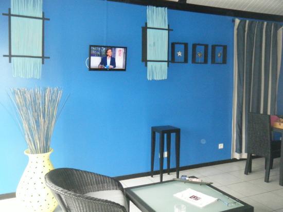 Quality Resort Rivland: vue du canapé ou du lit
