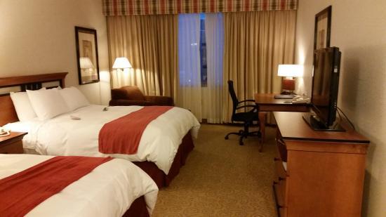 Radisson on John Deere Commons: Two queen bed room