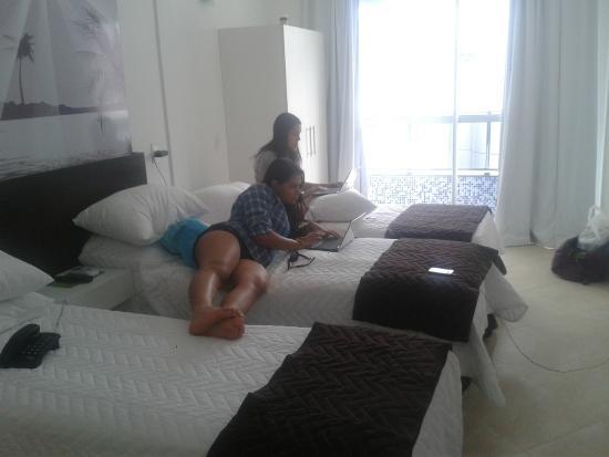 Riverside Ponta Negra : quarto
