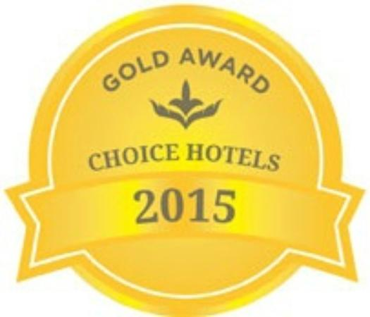 Quality Inn Winner 2017 Gold Award Choice Hotels