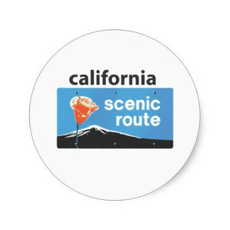 Quality Inn : We are along the California Scenic Route
