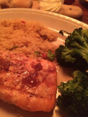 Jameson's Charhouse: Salmon with ginger glaze- very nice