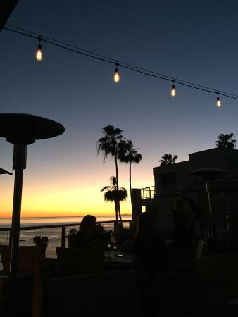 The Inn At Laguna Beach Wine Tasting On Rooftop Patio