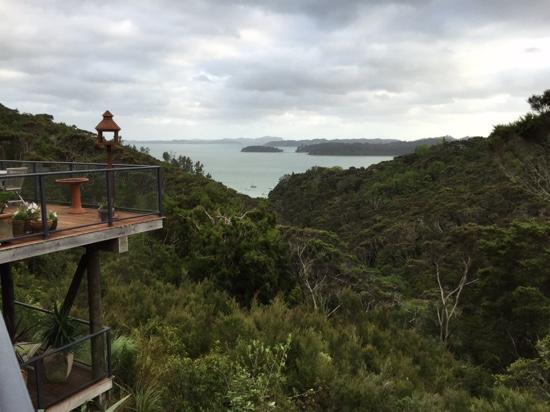 The Sanctuary @ Bay of Islands : view from bedroom balcony