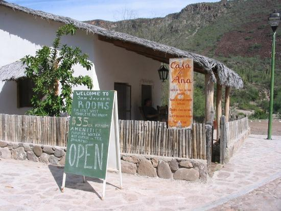 San Javier, México: Casa de Ana 2005 - Welcome Sign