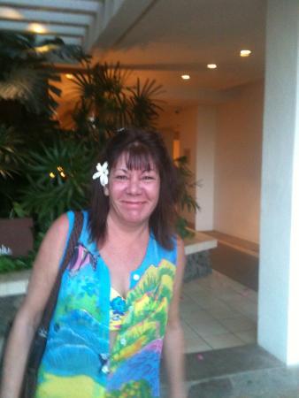 Holiday Inn Express Warrenton: my lovely wife