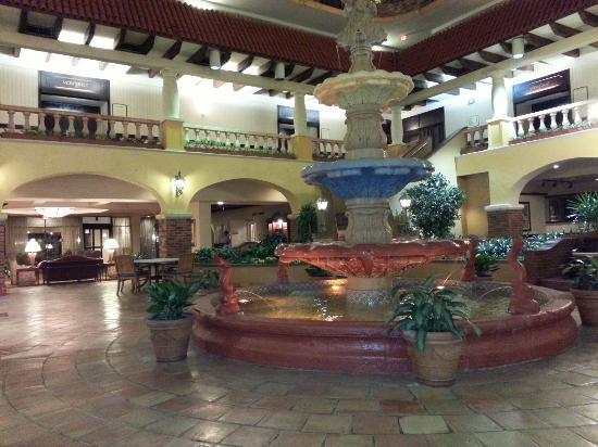 Embassy Suites by Hilton Hotel Kansas City - Plaza : Lobby waterfall