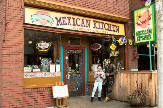 Outside Mama\'s Kitchen - Picture of Mama\'s Mexican Kitchen, Seattle ...
