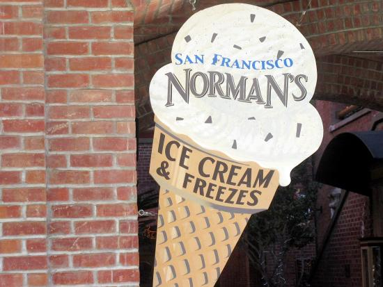 Norman's Ice Cream and Freezes, Cannery Row, San Francisco, Ca
