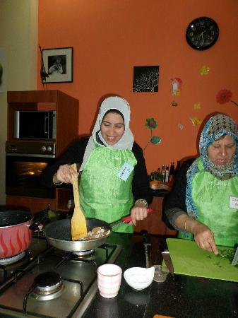 The House of Cooking - Lamyaa @ American Cooking Class