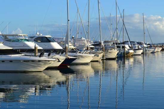 Amarna Resort: Nelson Bay Marina 10 minutes away
