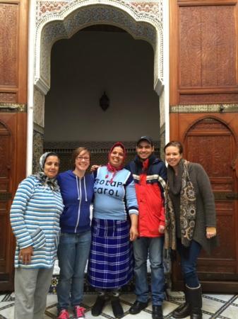 Riad Saada: The staff & us