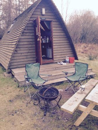 Gorsebank Camping Village: Camping in a Wigwam in Feb..Fab