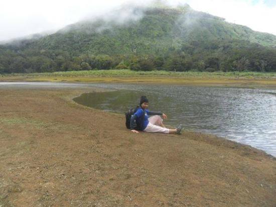Mount Apo: At lake venado