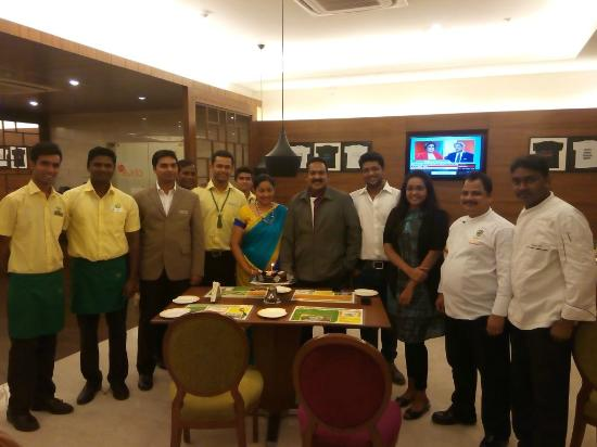 Lemon Tree Hotel Gachibowli Along With Staff