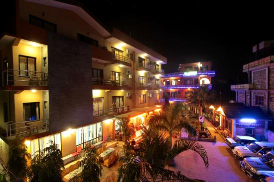 Hotel Building Night