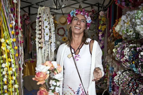Las Dalias Hippy Market: Alegría y color