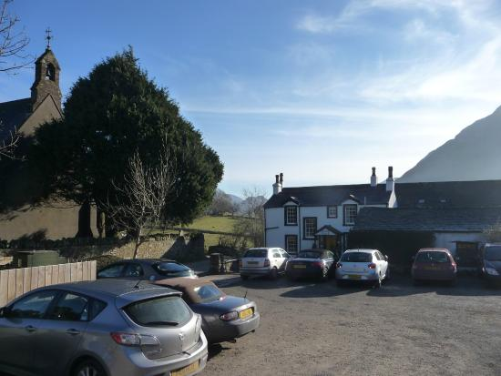 Kirkstile Inn: there`s just the Inn and the church here