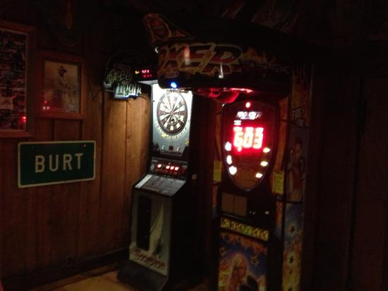 Newfane, NY:  game area in back room