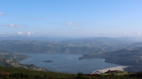 Maguga dam and Maguga Lodge, Swaziland