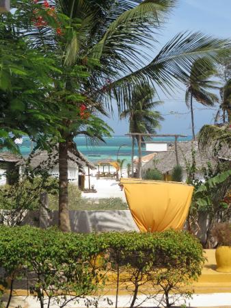 Bahati Villa: View from balcony