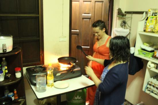 Ban Rai Tin Thai Ngarm Eco Lodge: cours de cuisine