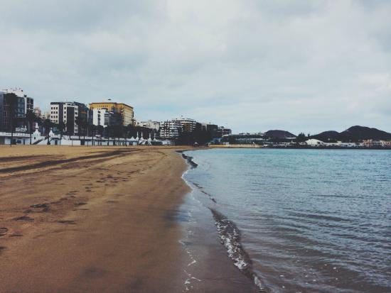 Playa de Las Alcaravaneras : Beautiful quiet beach