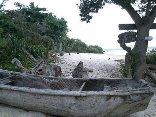 Mafia Beach Bungalows: Uitzicht Bungalow Beach