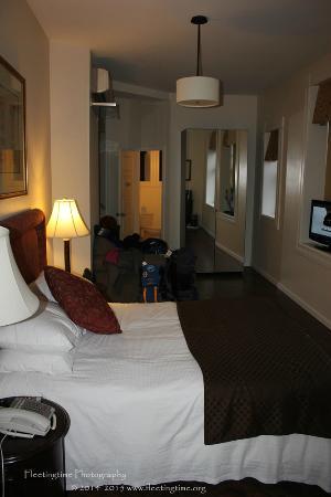 Hotel Brexton: Interior of Room