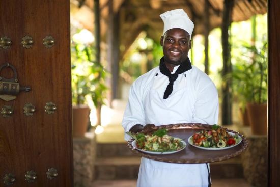 Diani Blue: Chef's special