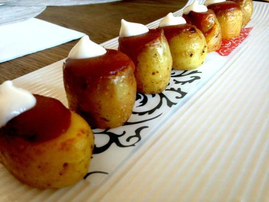 Estado Puro NH Palacio de Tepa: Patatas bravas