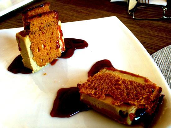Estado Puro NH Palacio de Tepa: Foie-gras con pan de especias y reducción de Oporto
