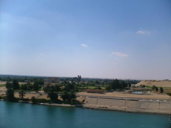 Suez Canal: another view of the Canal