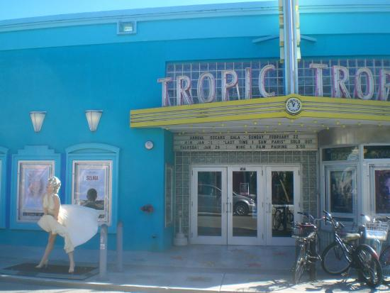 Tropic Cinema: Frontage with Marilyn