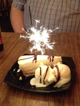 Fiesta Latina: Birthday Pudding