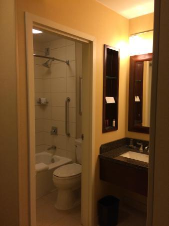 Chicago Marriott Oak Brook: Bathroom