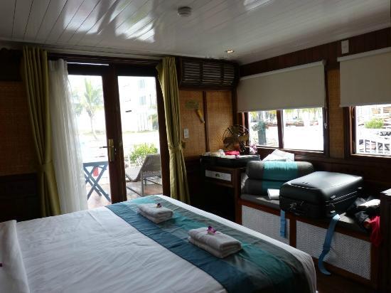Jonque An Nam : Ma très confortable cabine