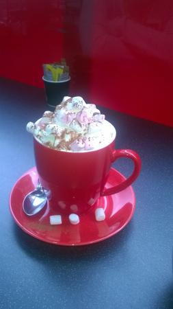 Hartleys Coffee & Sandwich Bar : Hot Chocolate