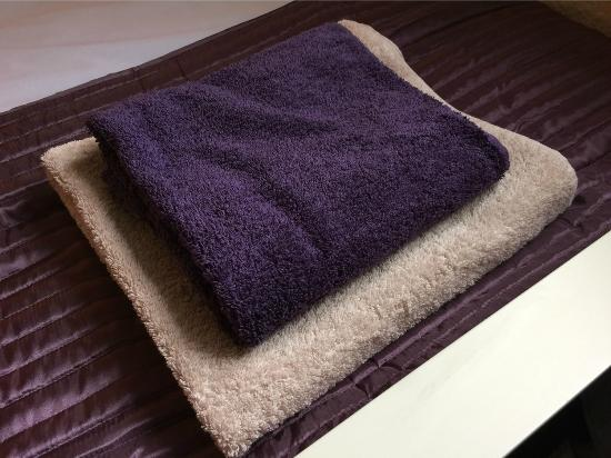 The Friars: Towels which are part of our all newly refurbished bedrooms - Feb 2015