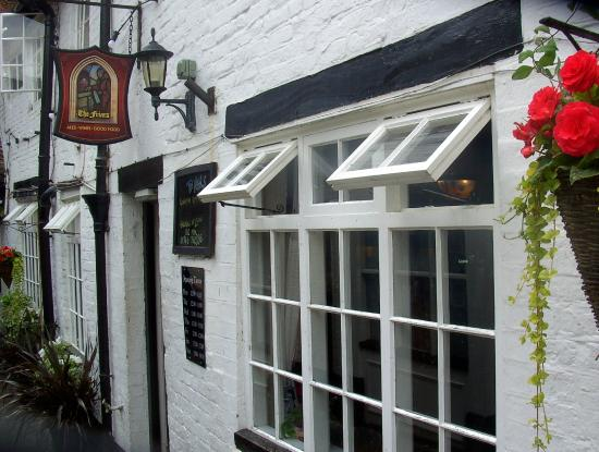The Friars: Tucked away in a quiet courtyard off the High Street.