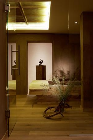 Hotel Karwendelhof: Wellness area relax oase