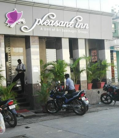 Pleasant Inn Pondicherry: The Front Face 2