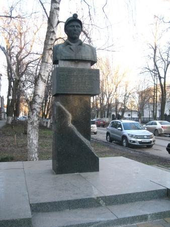 Bust of Mikhail Pavlovich Chikha