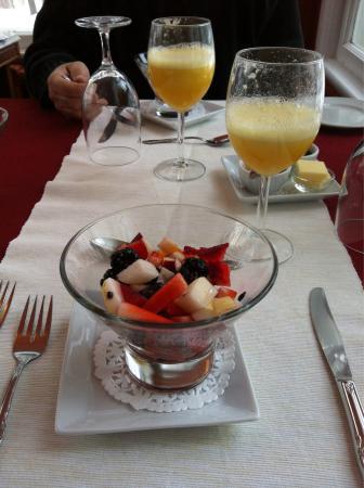 Au Clos Rolland, Couette & Cafe: première partie d'un déjeuner 4 services