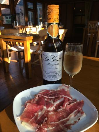 The Crown: Iberico ham off the bone with La Guita sherry
