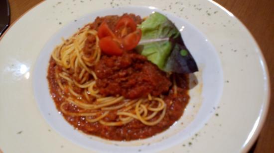 Royal Burgh Cafe: spaghettie bolognaise
