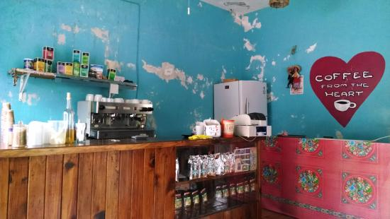 Coffee On The Corner: Coffee from the heart