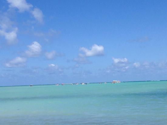 Xareu Beach: Praia do Xaréu . Banho de mar em águas cristalinas
